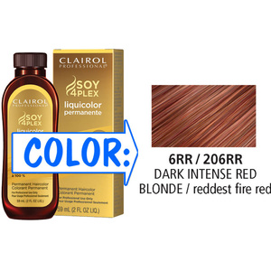 Clairol Professional Liquicolor Permanente - 6RR206RR Dark Intense Red Blonde 2 oz. (8867)