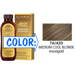 Clairol Professional Liquicolor Permanente - 7A42D Medium Cool Blonde 2 oz. (8842)