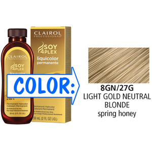 Clairol Professional Liquicolor Permanente - 8GN27G Light Gold Neutral Blonde 2 oz. (8827)