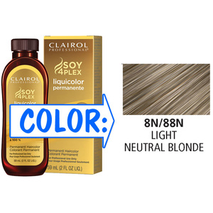 Clairol Professional Liquicolor Permanente - 8N88N Light Neutral Blonde 2 oz. (8888)