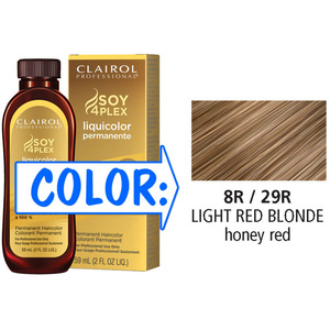 Clairol Professional Liquicolor Permanente - 8R29R Light Red Blonde 2 oz. (8829)