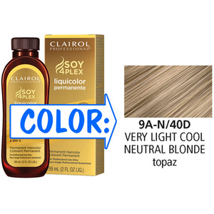 Clairol Professional Liquicolor Permanente - 9A-N40D Very Light Cool Neutral Blonde 2 oz. (8840)