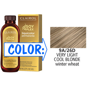 Clairol Professional Liquicolor Permanente - 9A26D Very Light Cool Blonde 2 oz. (8826)