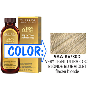 Clairol Professional Liquicolor Permanente - 9AA-BV30D Very Light Ultra Blonde-Blue-Violet 2 oz. (8830)