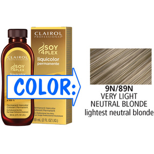 Clairol Professional Liquicolor Permanente - 9N89N Very Light Neutral Blonde 2 oz. (8889)