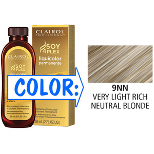 Clairol Professional Liquicolor Permanente - 9NN Very Light Rich Neutral Blonde 2 oz. (8893)