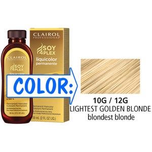 Clairol Professional Liquicolor Permanente - 10G12G Lightest Golden Neutral Blonde 2 oz. (8806)