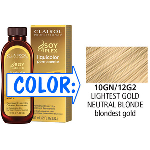 Clairol Professional Liquicolor Permanente - 10GN12G2 Lightest Gold Neutral Blonde 2 oz. (8810)