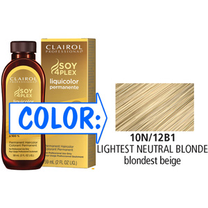 Clairol Professional Liquicolor Permanente - 10N12B1 Lightest Neutral Blonde 2 oz. (8808)