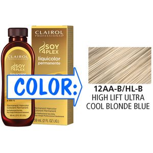 Clairol Professional Liquicolor Permanente - 12AA-BHL-B High Lift Ultra Cool Blonde Blue 2 oz. (8802)