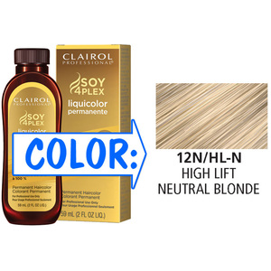 Clairol Professional Liquicolor Permanente - 12NHL-N High Lift Neutral Blonde 2 oz. (8804)