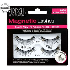 Ardell Magnetic Strip Lashes - Magnetic Double Lash 110 - Most Natural Full Strip Lash (1562)