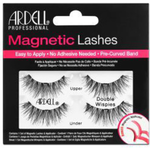 Ardell Magnetic Strip Lashes - Magnetic Lash - Double Wispies - Iconic Wispie Style With Extra Length & Volume (1563)