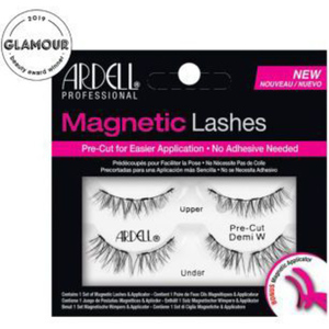 Ardell Magnetic Strip Lashes - Pre-Cut Magnetic Demi Wispies - Iconic Demi Wispie Style Lash; Shorter Inner Corner And Longer Outer Corners. Extra Volume (7329)