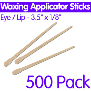 "Waxing Applicator Sticks - EyeLip - 3.5""L 500 Pack (6451)"