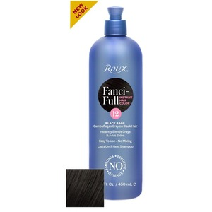 Roux Fanci-Full Rinse - 12 Black Rage 15 oz. (6412)