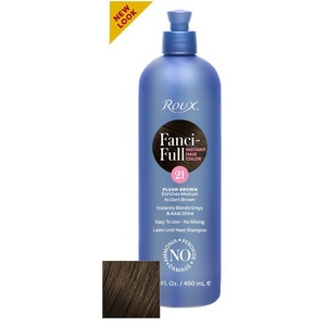 Roux Fanci-Full Rinse - 21 Plush Brown 15 oz. (6421)