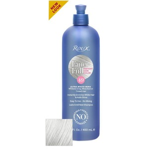 Roux Fanci-Full Rinse - 49 Ultra White Minx 15 oz. (6449)
