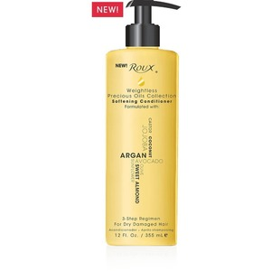 Roux Weightless Precious Oils Softening Conditioner 12 oz. (6025)