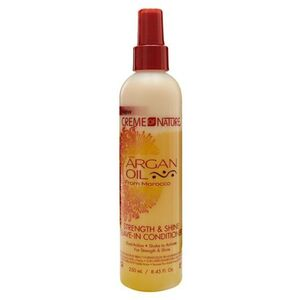 Creme of Nature Argan Oil Strength & Shine Leave-In Conditioner 8.45 oz. (3104)