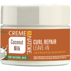Creme of Nature Coconut Milk Curl Repair Leave-In Conditioning Cream 11.5 oz. (3403)