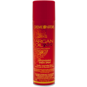 Creme of Nature Argan Oil Replenishing Sheen Spray 11.25 oz. (55% VOC) (3387)