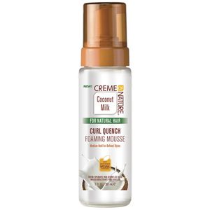 Creme of Nature Coconut Milk Curl Quench Foaming Mousse 7 oz. (3406)