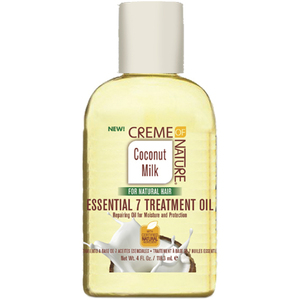 Creme of Nature Coconut Milk Essential 7 Treatment Oil 4 oz. (3408)
