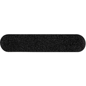 "3.5"" Cushioned Black Nail Files - 100180 Grit 50 Pack (1322)"