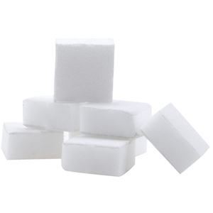 "Disposable Mini Blocks - White - 80150 Grit - 1"" x 1"" 1782 Count (1096)"