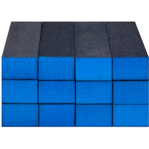 "Sanitizable Sanding Blocks - Blue - Super FineFine Grit - 1-38""H x 1""W x 3-34""L 12 Pack (4926)"