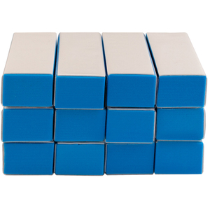 Tri-Sided Buff & Shine Block - High Gloss Buffing Blocks 12 Pack (4931)