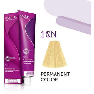 Kadus Professional Permanent Hair Color - 10N Lightest Blonde 2 oz. (7934)