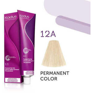 Kadus Professional Permanent Hair Color - 12A High Lift Blonde Ash 2 oz. (7935)