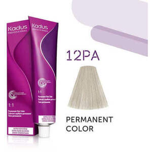 Kadus Professional Permanent Hair Color - 12PA Hi Lift Blonde Pearl Ash 2 oz. (7937)