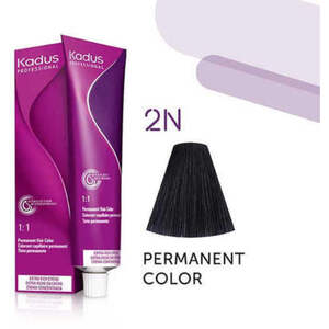 Kadus Professional Permanent Hair Color - 2N Black 2 oz. (7900)