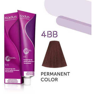 Kadus Professional Permanent Hair Color - 4BB Medium Brunette Intense Brown 2 oz. (7904)