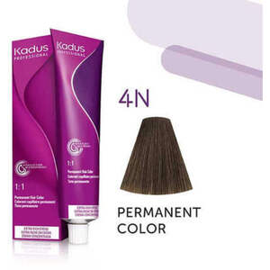 Kadus Professional Permanent Hair Color - 4N Medium Brunette 2 oz. (7906)