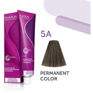Kadus Professional Permanent Hair Color - 5A Light Brunette Ash 2 oz. (7907)