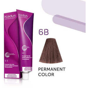 Kadus Professional Permanent Hair Color - 6B Dark Blonde Brown 2 oz. (7914)