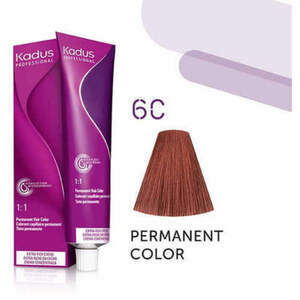 Kadus Professional Permanent Hair Color - 6C Dark Blonde Copper 2 oz. (7916)
