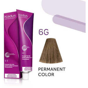 Kadus Professional Permanent Hair Color - 6G Dark Blonde Gold 2 oz. (7919)