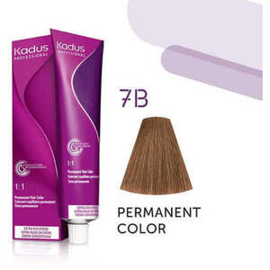 Kadus Professional Permanent Hair Color - 7B Medium Blonde Brown 2 oz. (7922)