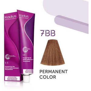 Kadus Professional Permanent Hair Color - 7BB Medium Blonde Intense Brown 2 oz. (7923)