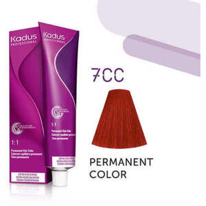 Kadus Professional Permanent Hair Color - 7CC Medium Blonde Intense Copper 2 oz. (7924)