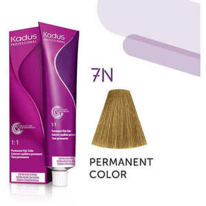 Kadus Professional Permanent Hair Color - 7N Medium Blonde 2 oz. (7925)
