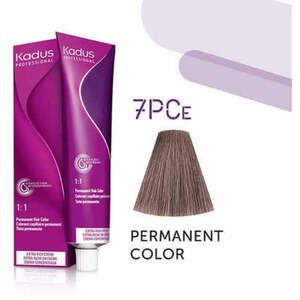 Kadus Professional Permanent Hair Color - 7PCe Medium Blonde Pearl Cendre 2 oz. (4638)