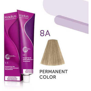 Kadus Professional Permanent Hair Color - 8A Light Blonde Ash 2 oz. (7926)