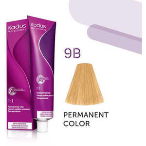 Kadus Professional Permanent Hair Color - 9B Very Light Blonde Brown 2 oz. (7931)