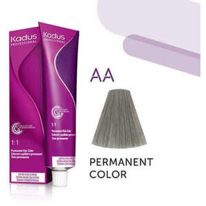 Kadus Professional Permanent Hair Color - AA Intense Ash Mix 2 oz. (7939)